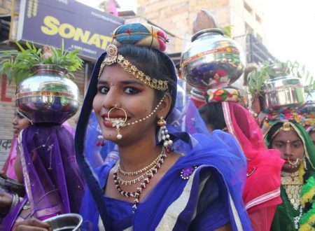 India – Turban competition at the Jaisalmer Desert Festival